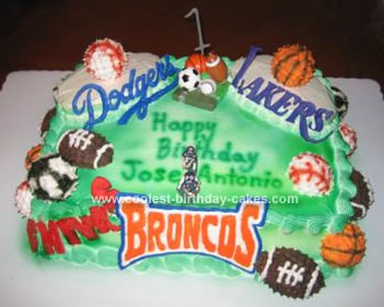 Magnificent Coolest Homemade Sports Ball Cakes Funny Birthday Cards Online Bapapcheapnameinfo