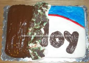 Homemade Almond Joy Cake