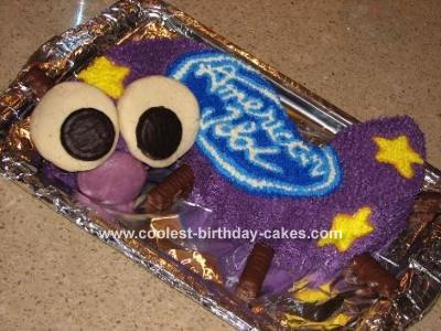 American Idol Caterpillar Cake