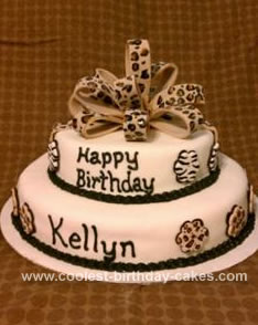 Excellent Coolest Animal Print Cake Funny Birthday Cards Online Elaedamsfinfo