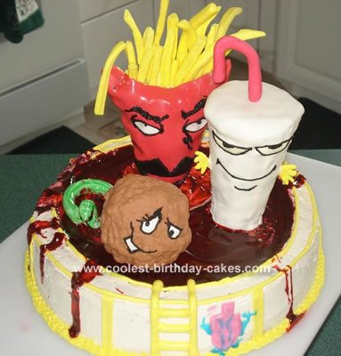 Aqua Teen Hunger Force Cake