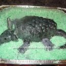 Homemade Armadillo Cake