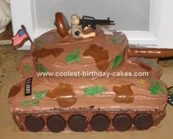 Carter's Army Tank Cake
