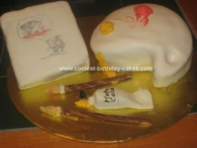 Homemade Art Cake