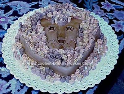 Homemade Astrological Birthday Cake