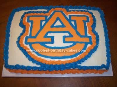 Homemade Auburn Cake