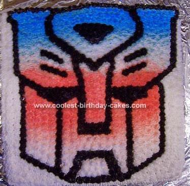 Autobot Cake