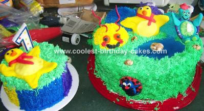 Baby Einstein Cake