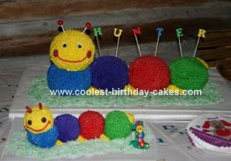 Baby Einstein Caterpillar Cake