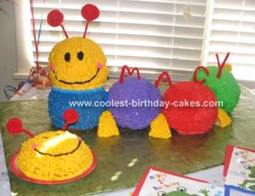 Caterpillar and Smash Cake