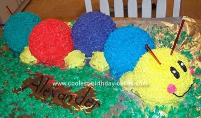 Homemade Baby Einsten Cake