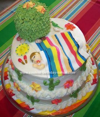 Coolest Babys First Birthday Cake