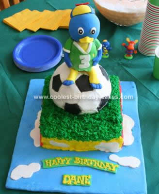 Homemade Backyardigans Birthday Cake Idea