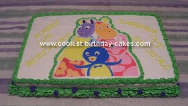 Backyardigans Group Picture Cake