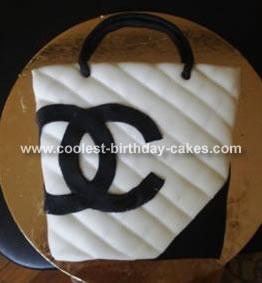 Jessica's Chanel Bag Cake