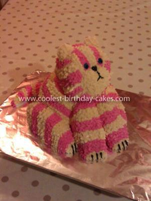 Homemade Bagpuss Birthday Cake