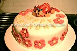 Homemade Bagpuss Cake