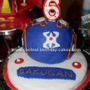 Homemade Bakugan Birthday Cakes