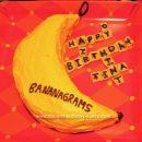 Homemade Bananagrams Cake