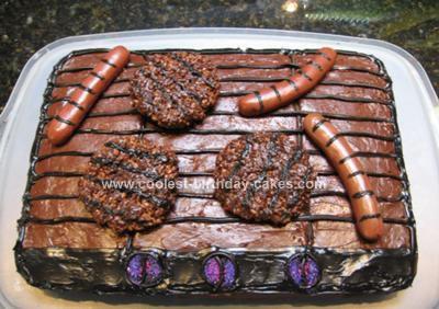 Homemade Barbecue Cake