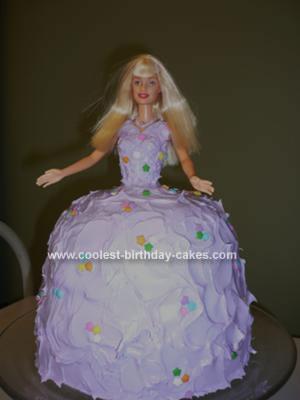 Homemade Barbie Ball Gown