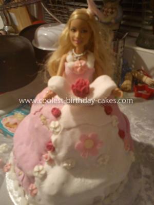 Coolest Barbie Cake