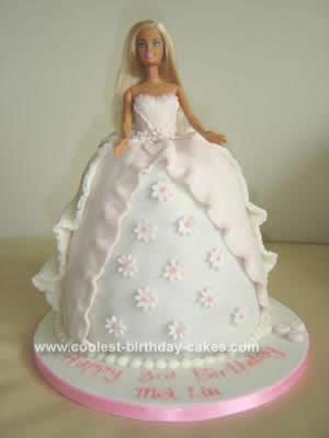 Barbie Doll Birthday Cake Idea