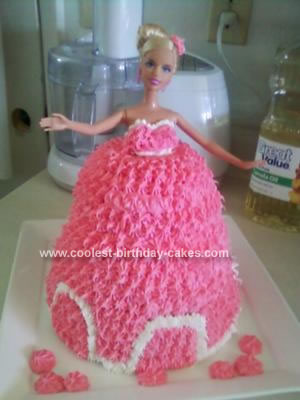 Coolest Barbie Doll Princess Cake
