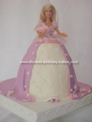 This Barbie Princess Birthday Cake Was Done For A Friend Of Mine Who Had Seen Previous That I My Own Daughter