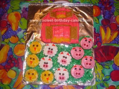 Homemade Barn Cake