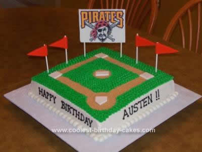 Awesome Coolest Baseball Birthday Cake Personalised Birthday Cards Epsylily Jamesorg