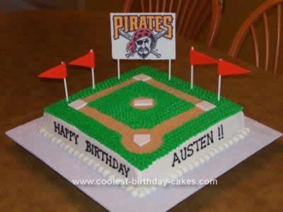 Sensational Coolest Baseball Birthday Cake Funny Birthday Cards Online Fluifree Goldxyz