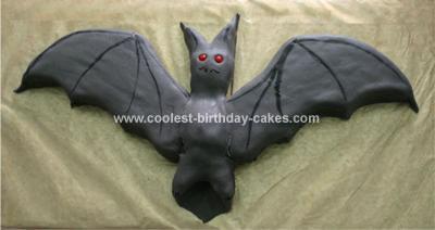 Homemade Bat Cake