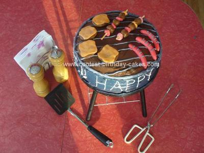 Homemade BBQ Cake