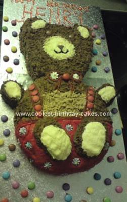 Homemade Bear Cake