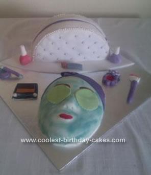 Homemade Beauty Cake