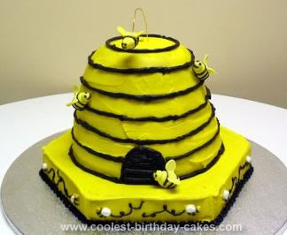 Homemade Beehive Cake