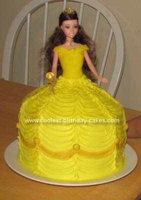 Homemade Belle Cake