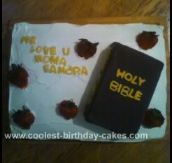 Homemade Bible Cake