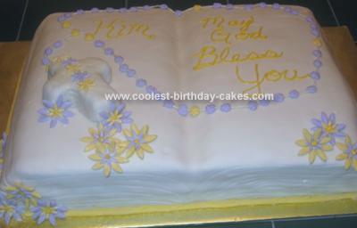 Homemade Bible Cake