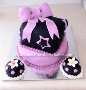 Homemade Big Bow Cake