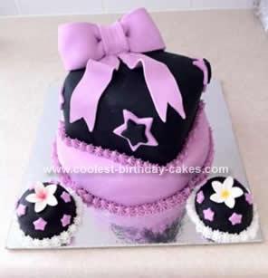Homemade Big Bow Cake