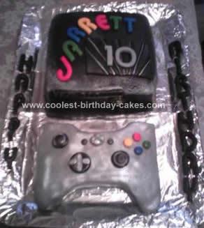 Homemade Birthday Cake X Box 360