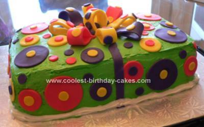 Homemade Birthday Present Cake