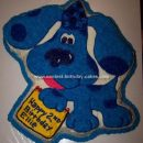 Homemade Blues Clues Cake