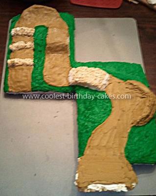 Coolest BMX Track Cake