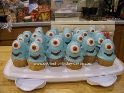Homemade B.O.B. Cupcakes
