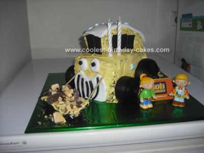 Homemade Bob the Builder Cake Idea