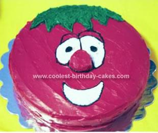 Homemade Bob The Tomato Cake