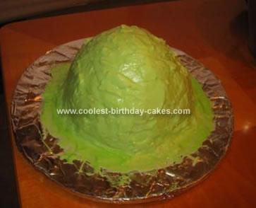 Homemade Booger Cake